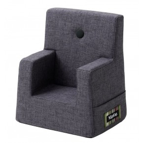 By KlipKlap Kids Chair - Blågrå m Grå Knap DEMO