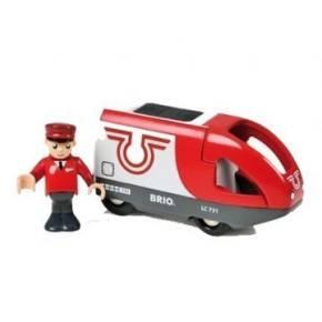 BRIO Batterilokomotiv m/lokofører Legetøj