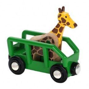 BRIO Giraf og vogn Legetøj