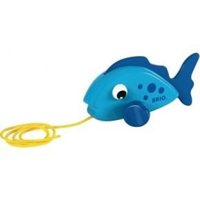 BRIO Pull Along Fisk Babylegetøj