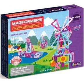 Magformers Inspire 62 set konstruktion - Multi