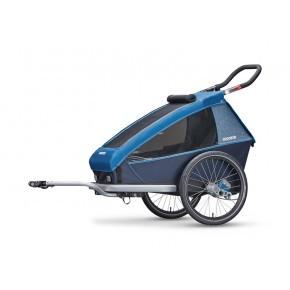 CROOZER Kid Plus 1 2019 cykelanhænger - blå