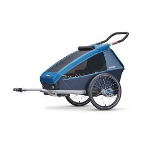 CROOZER Kid Plus 2 2019 cykelanhænger - blå