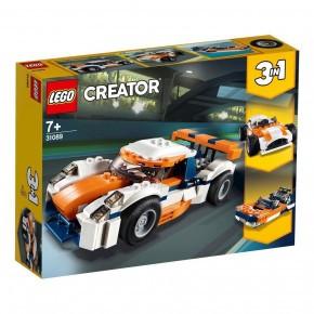 LEGO Creator, Orange racerbil - 31089