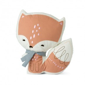 Picca Loulou Cushion Fox Pude 28 cm - Orange