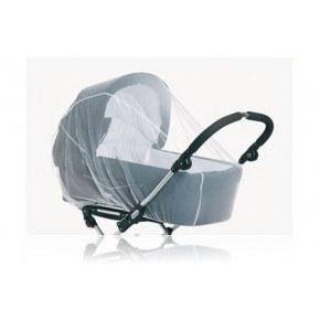 Baby Dan tvillige Insektnet - Hvid Tilbehør til Barnevogn