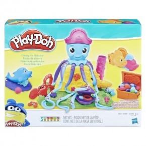 Play-Doh Blæksprutten Crancky, modellervoks