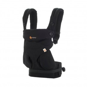 Ergobaby 360 Carrier Pure Black Bæresele