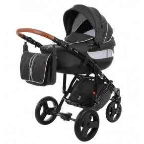 Knorr-Baby Sportime Premium kombivogn - Mørke grå