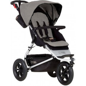 Mountain Buggy Klapvogn - Urban Jungle, Silver
