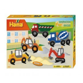 Hama midi gaveæske Construction Vehicles /15 Diverse