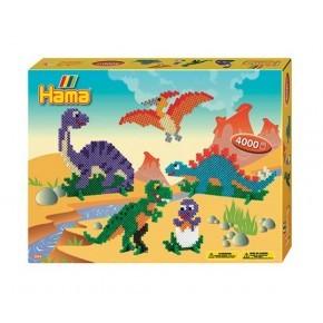 Hama midi gaveæske Dinosaurus /15 Diverse