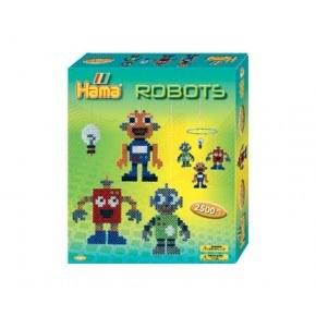 Hama midi gaveæske Robotter /12
