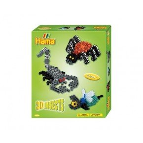 Hama Midi Gaveæske - 3D Insects