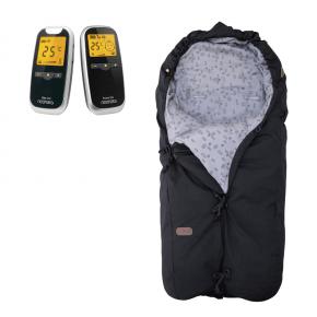 Neonate BC5800D Babyalarm + Voksi Classic+ Mini - Leaf Black