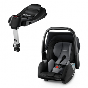Recaro Privia Evo (Carbon) + SmartClick Base