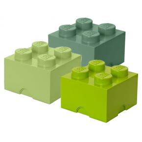 LEGO Opbevaringskasse 4 mix - Grøn
