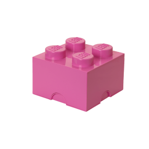 LEGO Opbevaringskasse 4 - Pink