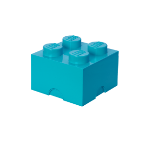 LEGO Opbevaringskasse 4 - Azurblå