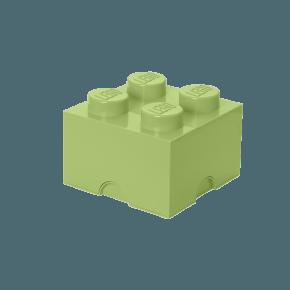 LEGO Opbevaringskasse 4 - Gul-grøn