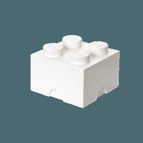 LEGO Opbevaringskasse 4 - Hvid.