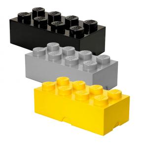 Lego Brick 8 Opbevaringskasse mix - Gul