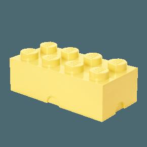 LEGO Opbevaringskasse 8 - Lysgul