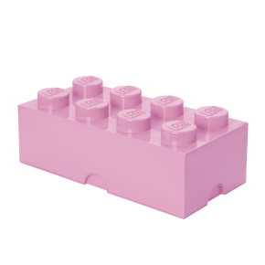 LEGO Opbevaringskasse 8 - Light Purple