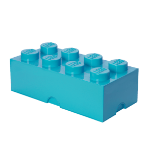 LEGO Opbevaringskasse 8 - Azurblå
