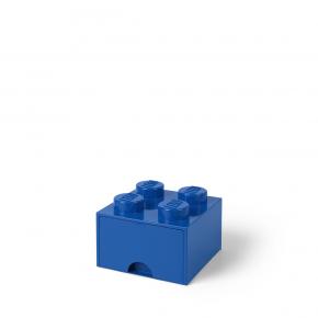 LEGO Brick 4 Opbevaringsskuffe - Blå
