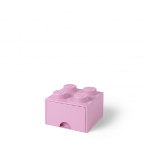 LEGO Brick 4 Opbevaringsskuffe - Lilla