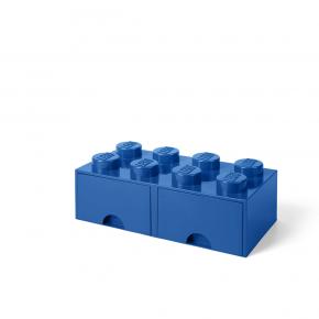 LEGO Brick 8 Opbevaringsskuffe - Blå