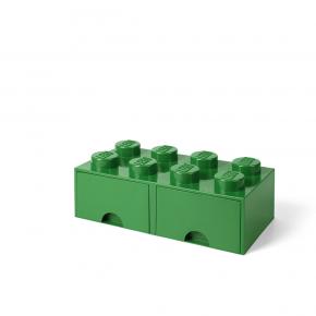 LEGO Brick 8 Opbevaringsskuffe - Grøn
