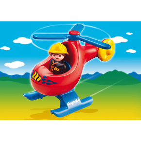 PLAYMOBIL 123 Brandhelikopter