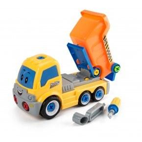 3-2-6 Legetøjsbil, Adskil og saml - Tiptruck
