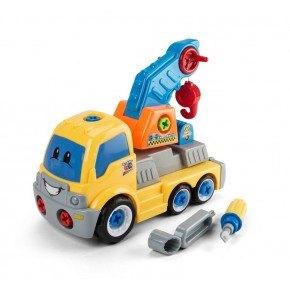 3-2-6 Krantruck - Adskil og saml, legetøjsbil