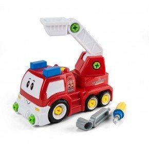3-2-6 Legetøjsbil Adskil og saml - Brandbil
