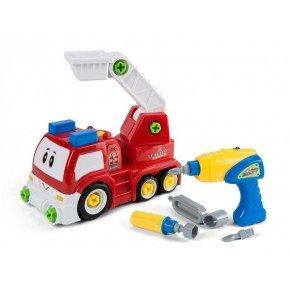 3-2-6 Legetøjsbil, Adskil og saml - Brandbil