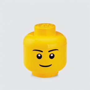 LEGO Opbevaringshoved - Dreng, str. S
