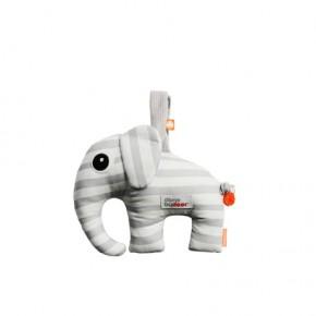 Done By Deer Musical toy, Elphee, grey