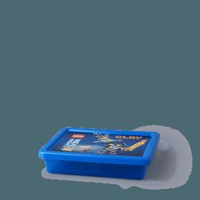 Lego Nexo Knights Opbevaringsboks - Transparent Blå (S)