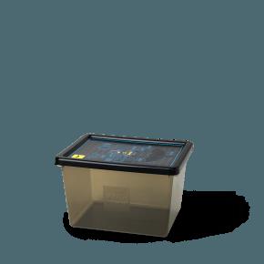 Lego Batman Opbevaringsboks - Transparent Sort (L)