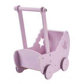 Kids Concept Dukkevogn Stjerne - Rosa