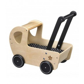 Kids Concept Dukkevogn - Natur