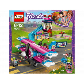 LEGO Friends, Heartlake rundflyvning - 41343