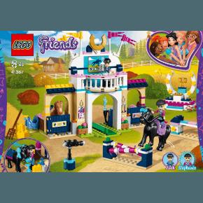 LEGO Friends Stephanies ridespringningsbane -41367