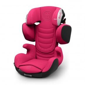 Kiddy Cruiserfix 3 Autostol - Berry Pink (Til isofix og/eller selemontering)