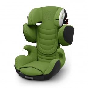 Kiddy Cruiserfix 3 Autostol - Cactus Green (Til isofix og/eller selemontering)