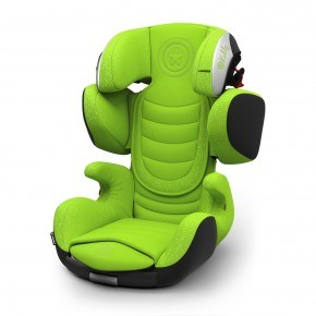 Kiddy Cruiserfix 3 Autostol - Spring Green (Til isofix og/eller selemontering)