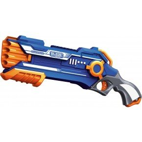 Air Blaster, Soft bullet pumpgun med 20 pile - Blaze Fire